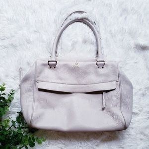 Kate spade cream dome hobo leather shoulder purse